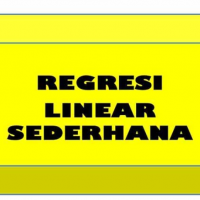 Rumus Regresi Linear Sederhana